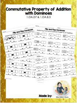 Domino Bundle! Commutative Property of Addition, Subtraction, Number Bonds