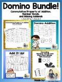 Domino Bundle! Commutative Property of Addition, Subtracti
