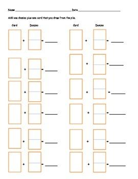 Domino Card Addition