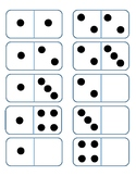 Domino Cards 0 to 5 sample