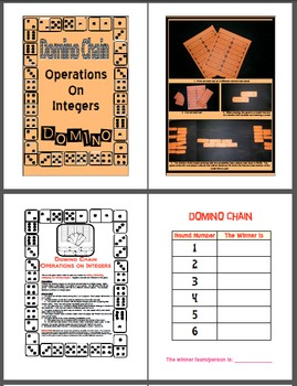 Domino Chain - Operations on Integers