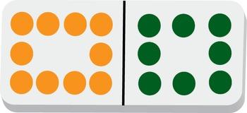 Dominoes Clip Art Double 12s