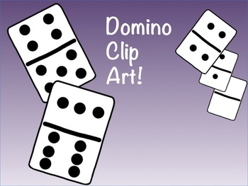 Domino Clip Art for commercial or personal use