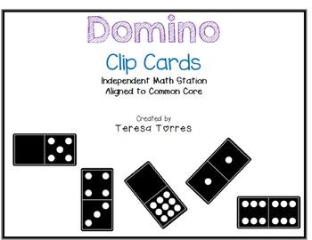 Domino Clip Cards