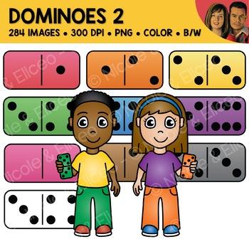 Digital Graphics - Domino Clipart 1