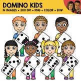Domino Kids Clipart
