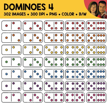 Digital Graphics - Domino Clipart 3