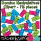 Domino Clipart BUNDLE * Math Manipulatives * 148 PCS
