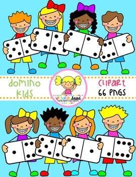 Domino Clipart {Kids Clipart}