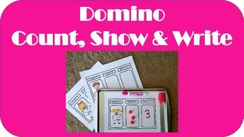Domino Count, Show & Write