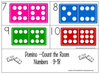 Domino-Count the Room-Sets 9-18