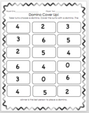 Domino Cover Up, Addition Game
