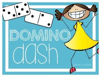 Domino Dash Mental Math Games, Flash Cards & Worksheets