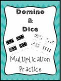 Domino & Dice Multiplication Practice Activities