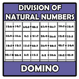 Domino - Division of natural numbers