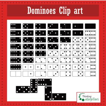 Domino / Dominoes Clip art