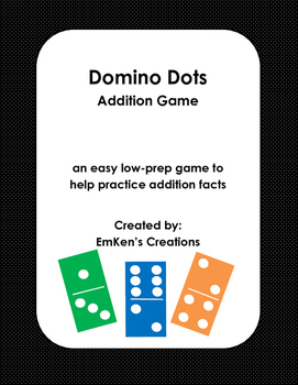 Domino Dots Addition Game