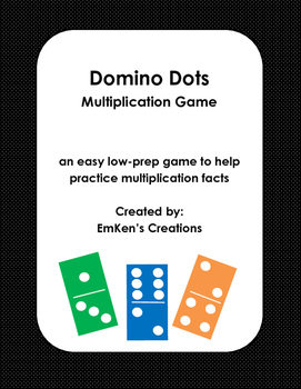 Domino Dots Multiplication Game