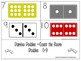 Domino Doubles 0-9 Count/Read the Room Activity