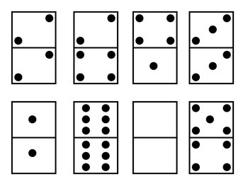 Doubles and Doubles plus one domino sort