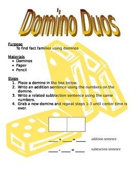 Domino Duos
