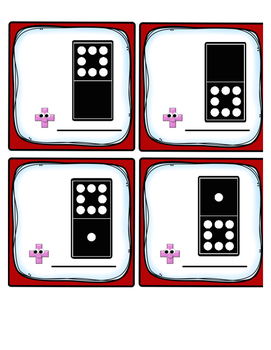 Domino Eights Fact Fluency