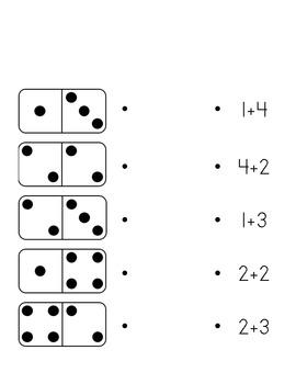 Domino Equation Match Addition