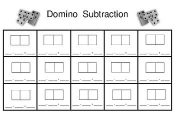 Domino Equation Template