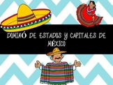 Domino Estados y Capitales de Mexico