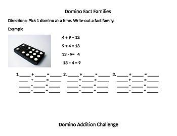 Domino Fact Family Center