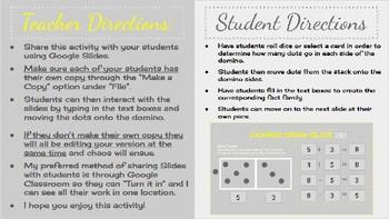 Domino Fact Family Slides
