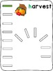 Domino - Fall - letter formation activity mats (English)