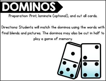 Domino Final Blends