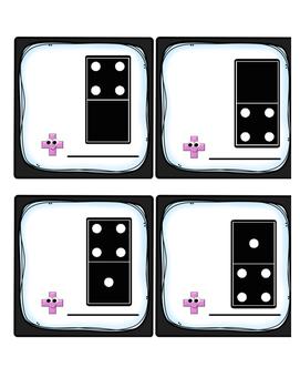 Domino Fours Fact Fluency