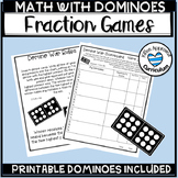 Domino Fraction Games, Adding Subtracting Multiplying and Dividing Fractions