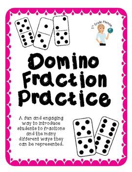 Domino Fraction Practice