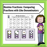 Comparing Fractions with Like Denominators