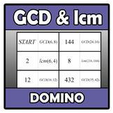 Domino - GCD & lcm (TARSIA)