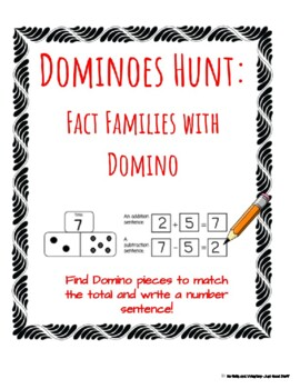 Domino Hunt- Fact Families with Domino
