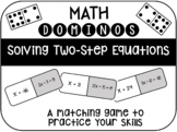 Domino Matching Game - Solving Two-Step Equations