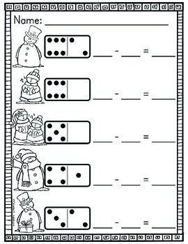 Domino Addition and Subtraction