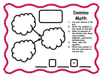 Domino Math Activity