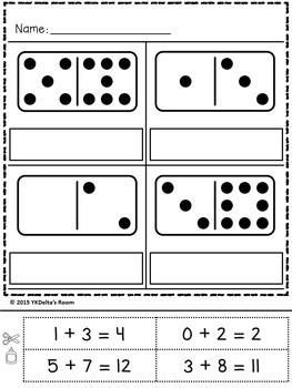 Domino Math - Addition Activities
