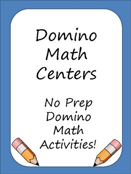 Domino Math Centers (Addition and Number Recognition)