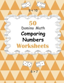 Domino Math Worksheets: Comparing Numbers