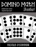 Domino Math Freebie