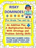 Domino Math Games: Addition and Multiplication With Problem Solving