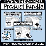Domino Math Centers Domino Math Games