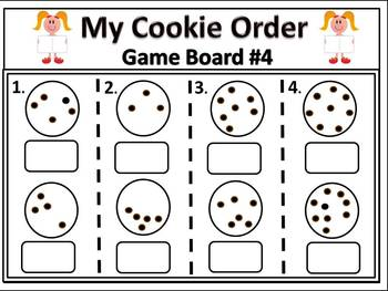 Domino Math Games For Early Numeracy Skills With Cookies is Fun