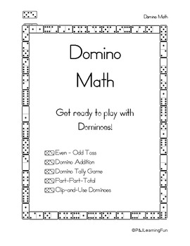 Domino Math: Get Ready to Play with Dominoes